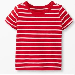 NWT Hanna Andersson Red Organic Cotton Tee
